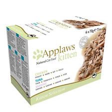 More details for applaws natural cat food, kitten multipack chicken and fish selection in broth 6