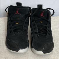 Nike Air Jordan 12 Retro Reverse Taxi Black Size 13C