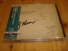 GIDON KREMER Bach Sonatas & Partitas for Violin Solo ECM Double SHM-CD Signed