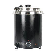 Commercial 5.7L Wet Heat Electric Soup Kettle Boiler Food Warmer Restaurant CE