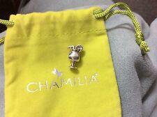 brand new chamilia drink charm bead  retired GA - 54