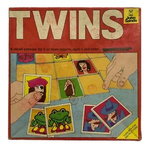 Vintage Twins (Pairs) - John Sands - 1975 - Made in Australia - 99% Complete