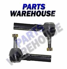 2 Outer Tie Rod Ends Pair For Left Driver And Right Passenger Set Kit Warranty