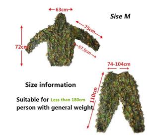 Jungle camouflage sniper auspicious suit hunting suit Ghillie Suits