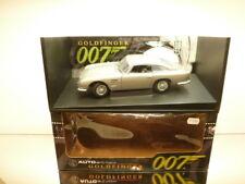 AUTOART ASTON MARTIN DB5 JAMES BOND 007 GOLDFINGER -RHD 1:18 - EXCELLENT IN BOX