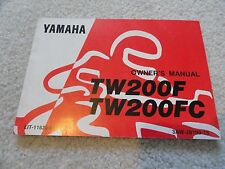 s l225 yamaha tw200 manuals & literature ebay Yamaha Outboard Wiring Diagram at gsmx.co