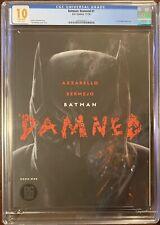 2018 DC Batman Damned #1 Black Label - Bermejo CGC 10