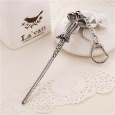 Harry Potter Hermione Dumbledore Lord Voldemort Magic Wand Keyring Key Chain US