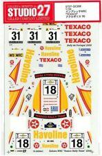 STUDIO27 1/24 SUBARU IMPREZA WRC TEXACO Acropolis' 00 for TAMIYA DC356 Decal