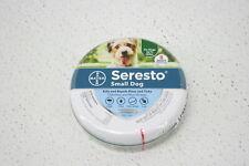 Seresto 86904632 8 Month 18 Pound Small Dog Odorless Tick Flea Collar Grey