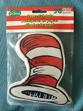 Dr Seuss Cat In The Hat Paper Cut Outs Set Of 36