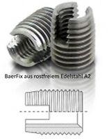 Gewindeeins/ätze M 5 x 0,8 x 10 mm BaerFix/® Gewindereparatur-Eins/ätze 10 St/ück