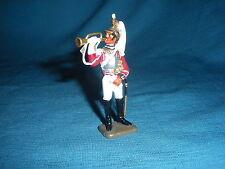 588A Starlux Atlas Fanfare Trompette 13 Rgt Figurine Plomb Empire 1/32 Napoleon