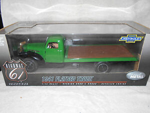 1/16 Die Cast Promotions 1941 Chevrolet Flatbed Truck Detailed Engine Open Hood+
