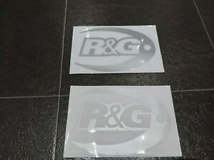 R&G Racing Products Decal Genuine Cool Sticker Motorcycle Model decoration. (x2)