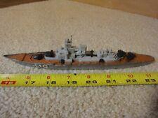 "Vintage Matchbox Lesney K-303 Sea-Kings diecast Battleship, 9"" diecast Navy ship"