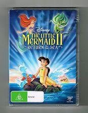 The Little Mermaid II - Return To The Sea Dvd Disney Brand New & Sealed