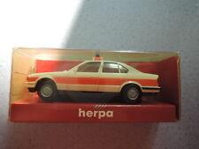 Herpa bmw 535i rdc emergencias neutral luz azul, accesorios y de embalaje original colección (2)