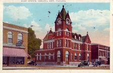 POST OFFICE OSHAWA ONTARIO CANADA 1931
