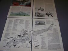 VINTAGE..MIL MI-26 HIND D/E HELICOPTER..CUTAWAY/3-VIEWS/PHOTOS..RARE! (137F)