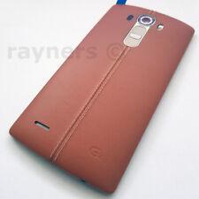 "Cornetta (Nuovo) LG G4 Marrone Pelle Senza SIM 32GB 5.5"" 3GB RAM 16MP Android H815"
