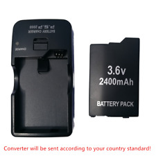 BATTERY PACK + quick charger FOR SONY PSP 3000 3001 3003 3004 lite new