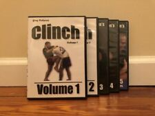 CLINCH SERIES (6) DVD SET bjj takedowns knee counters pummeling wrestling nhb