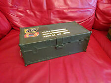 Action Man Kit Box Trunk - with over 200 Soldiers - 1990s