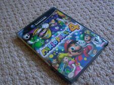 Fun Nintendo GAMECUBE Game MARIO PARTY 4 FOUR IV Complete BLACK LABEL WoW