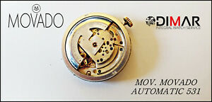 Movement+Sphere+Handles MOVADO 531 Automatic Vintage - Ø.30.74mm Approx