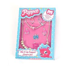 Official Licensed Moshi Monsters Poppet Mix It Up Charm Set Necklace Bracelet