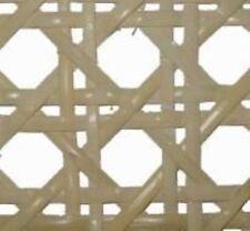 """1"""" Common bleached pre-woven cane webbing 24"""" wide. Sold by the inch. seat chair"""