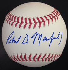 Robert D Rob Manfred Jr Signed Full Name Official MLB Baseball Auto Autograph