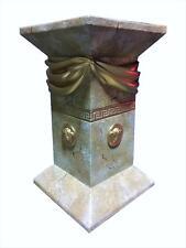 Griechische Möbel Blumensäule Versa Serie Blumenständer Marmor Säule H: 55cm