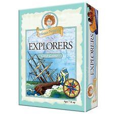 PROFESSOR NOGGIN'S EXPLORERS FUN & EDUCATIONAL TRIVIA CARD GAME OUTSET MEDIA