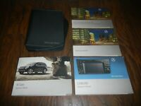 2009 MERCEDES ML350  ML550 + NAV BOOK OWNER MANUAL SET WITH CASE + FREE SHIPPING