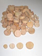 Posten 120Stück Sortiment Querholzplättchen Kiefer Konusplättchen Astlochstopsel