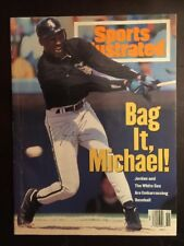 Original Signed Michael Jordan Hall Of Fame HOF Sports Illustrated 1994