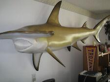 WALL MOUNTED HAMMERHEAD SHARK 11FT LONG