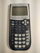 Ti-84 Plus Graphing Calculator Scientific School Texas Instruments Used