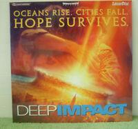 Deep Impact (1999) PAL Laser Disc, Sci-Fi Film, Morgan Freeman [PLFEC 37871]