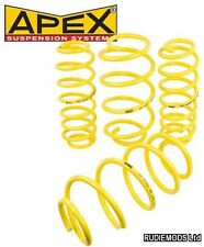 Apex Audi TT Mk1 99-06 Coupe & Roadster Quattro 40mm Lowering Springs