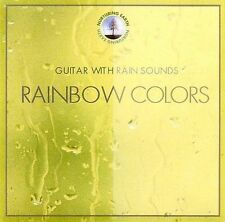 Guitar with Rain Sounds - Rainbow Colors (CD, 2000) Usually ships in 12 hours!!!