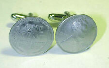 Coin Jewelry~WWII Steel Penny cufflinks-handmade in the USA