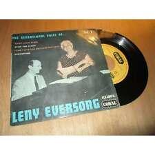 LENNY EVERSONG saint-louis blues + 3 titres EP 45 tours CORAL 1957