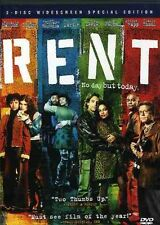 Rent [WS] [2 Discs] [Special Edition] (2006, REGION 1 DVD New)