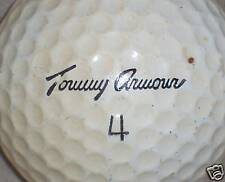 (1) SIGNATURE - TOMMY ARMOUR   LOGO GOLF BALL BALLS