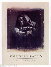 MEGADETH Vic Rattlehead Youthanasia Halloween Promo sticker 1994 NEW!!!