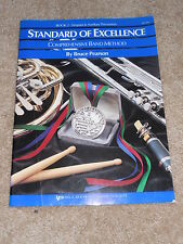 Standard of Excellence Book 2 Timpani & Auxiliary Percussion W22TM