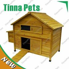 X-large Classical Chicken Coop house Chook Hutch P018old